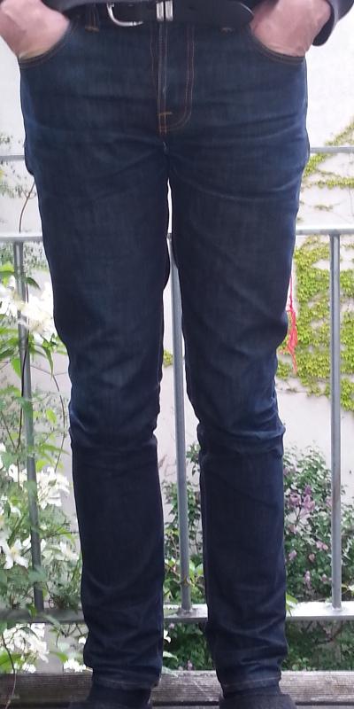 Schwarze jeans das erste mal waschen